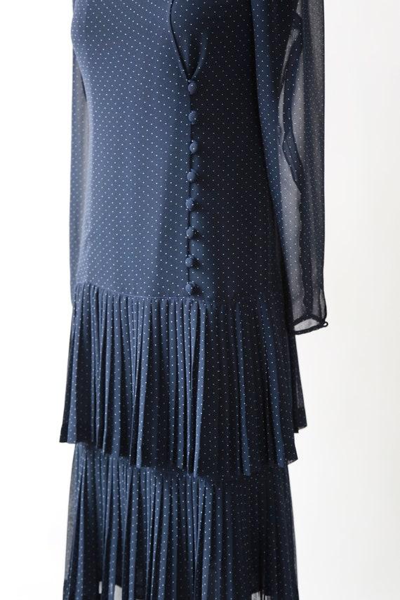 ALBERT NIPON polka dot dress | Vintage 80s Albert… - image 4