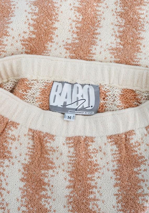 BABO Knit pencil skirt | Vintage 90s abstract kni… - image 8