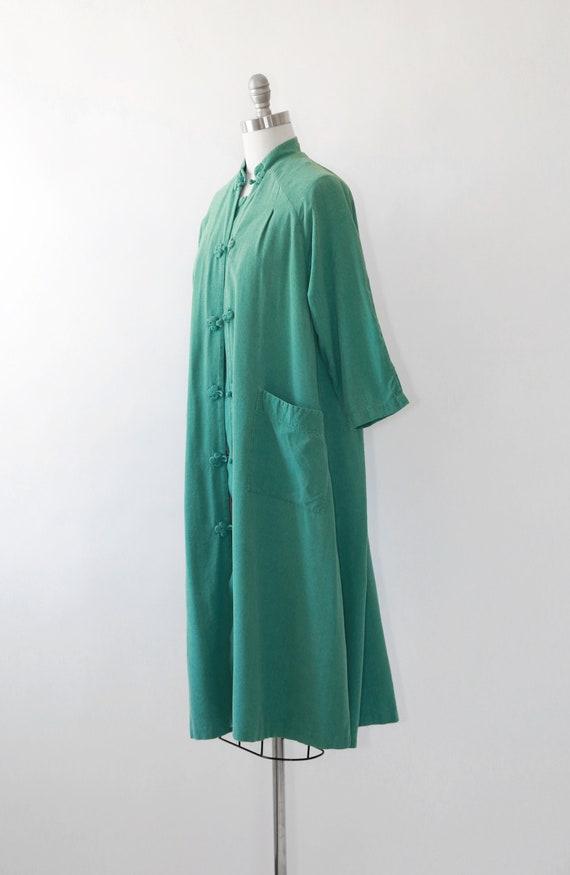World traveler robe | Vintage 50s oriental silk r… - image 5