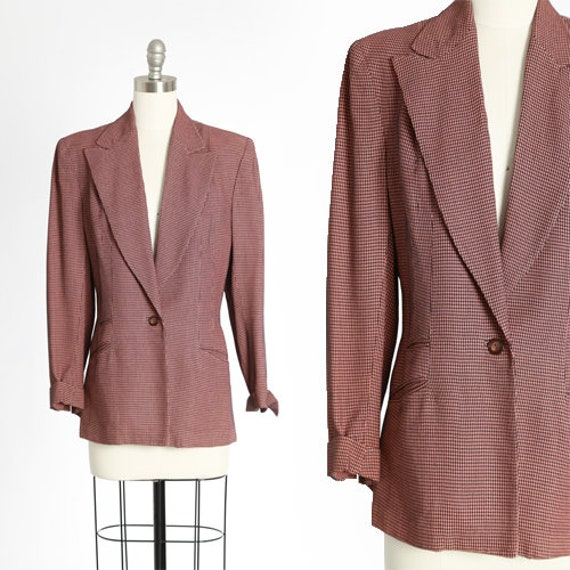 Lady Barrington 40s blazer | Vintage 40s salmon ho