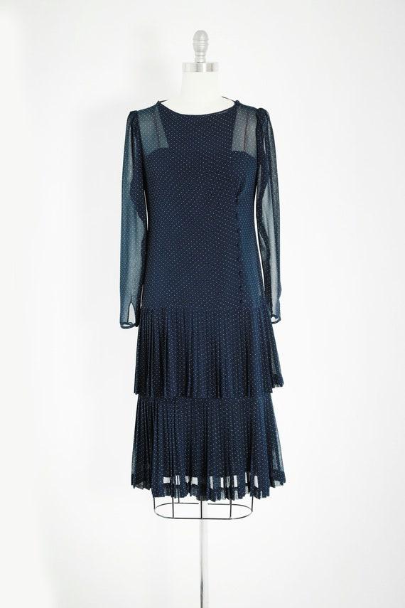 ALBERT NIPON polka dot dress | Vintage 80s Albert… - image 3