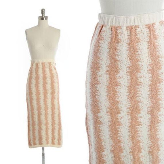 BABO Knit pencil skirt | Vintage 90s abstract kni… - image 1