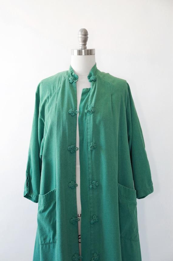 World traveler robe | Vintage 50s oriental silk r… - image 3