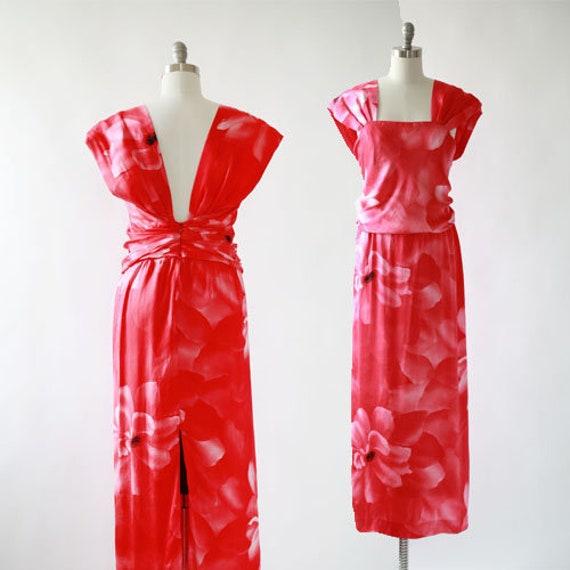 Vintage Hanae Mori silk dress | Hanae Mori couture