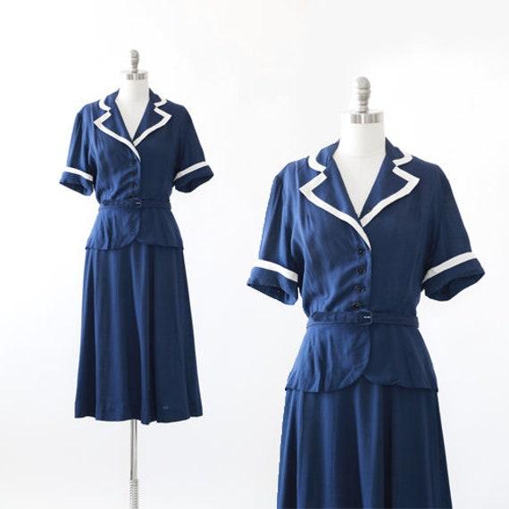 40s Sailor suit | Vintage 1940s I. Magnin sailor s