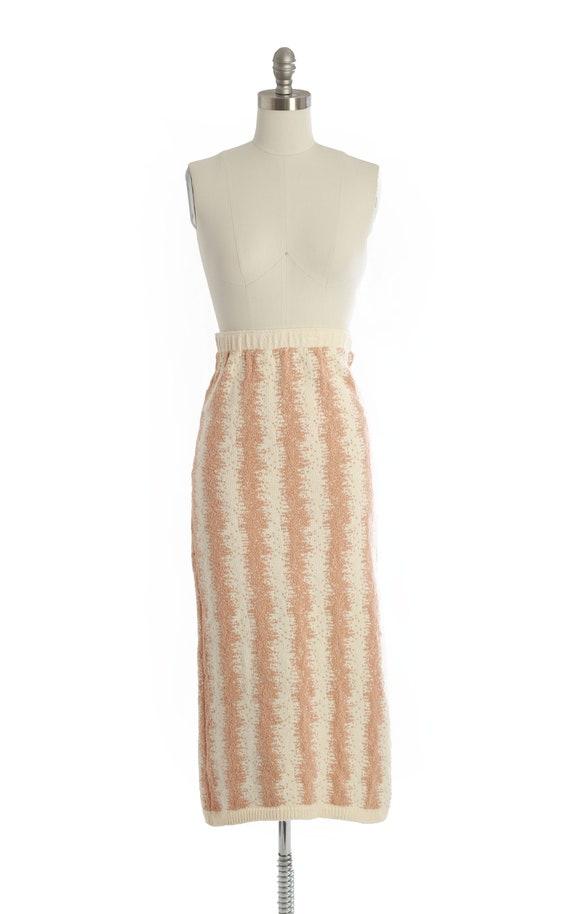 BABO Knit pencil skirt | Vintage 90s abstract kni… - image 2