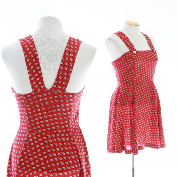 ESPRIT snail suspender dress