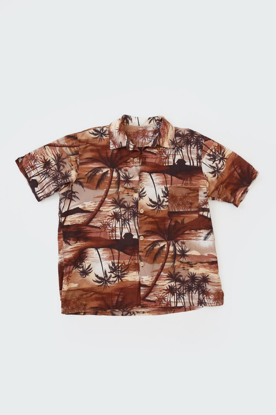 Vintage 60s Hawaiian shirt | 1960s tropical Hawaii