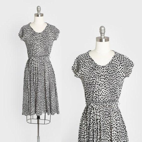 Lady Carol dress | Vintage 70s Leopard print mini
