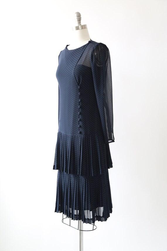 ALBERT NIPON polka dot dress | Vintage 80s Albert… - image 6