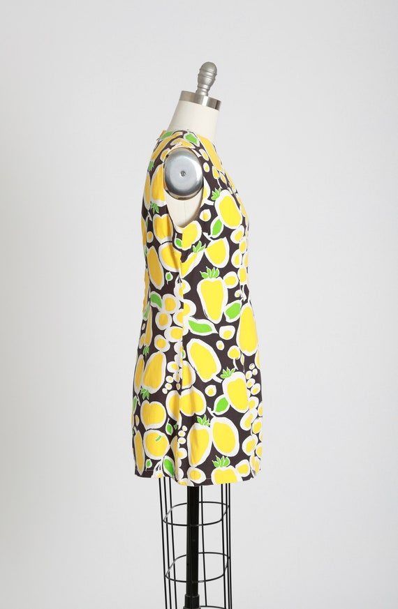 Fruit mini dress | Vintage 60s MOD fruit dress | … - image 5