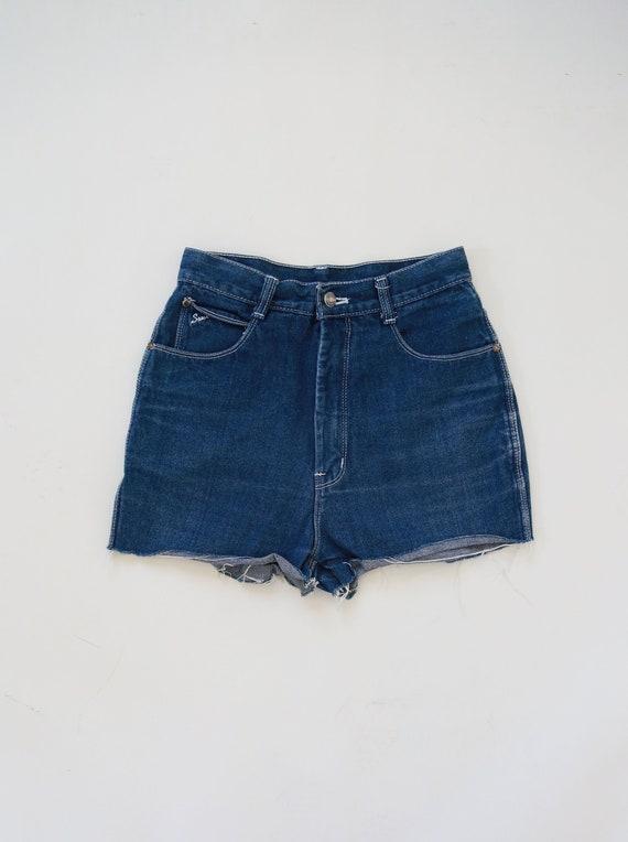 Sassi cutoff jean shorts | Vintage 70s blue jean s