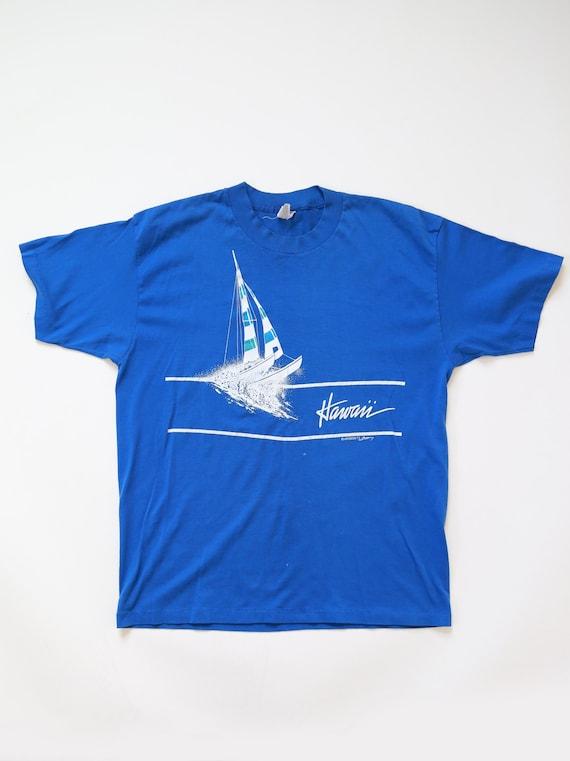 Hawaii T shirt   Vintage 80s HAWAII paper thin t s