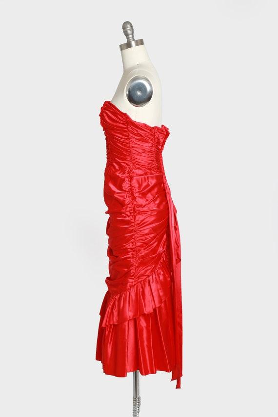 Gunne Sax victorian dress | Vintage Gunne Sax RED… - image 5