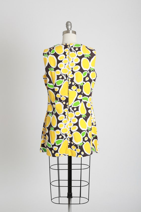 Fruit mini dress | Vintage 60s MOD fruit dress | … - image 7