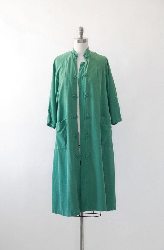 World traveler robe | Vintage 50s oriental silk r… - image 2