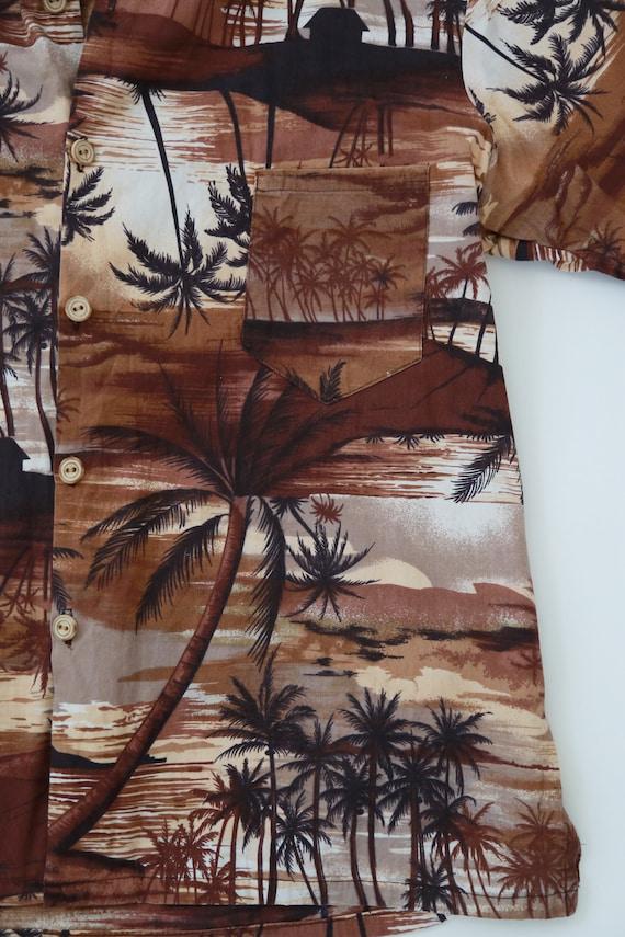 Vintage 60s Hawaiian shirt | 1960s tropical Hawai… - image 3
