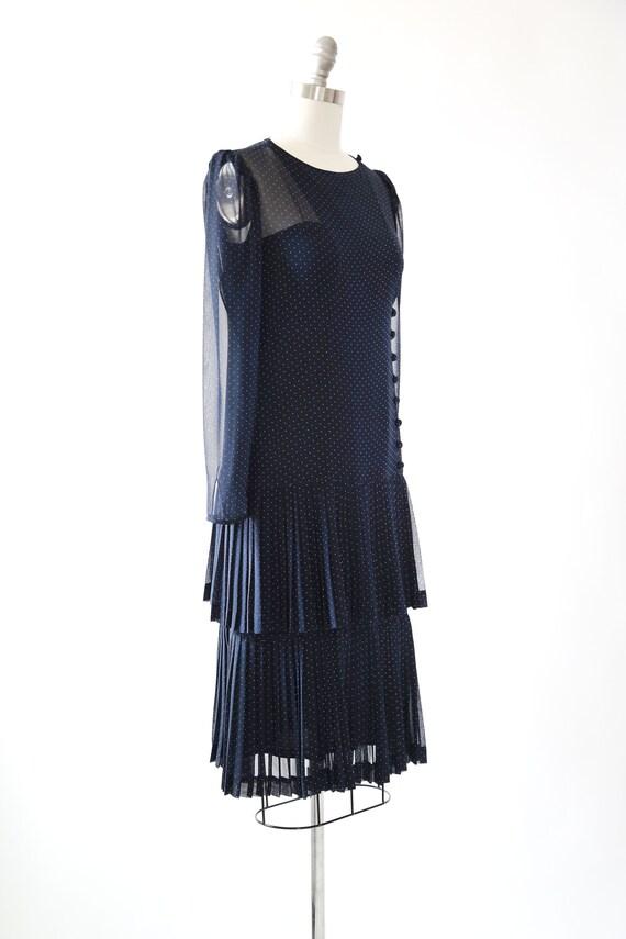ALBERT NIPON polka dot dress | Vintage 80s Albert… - image 8