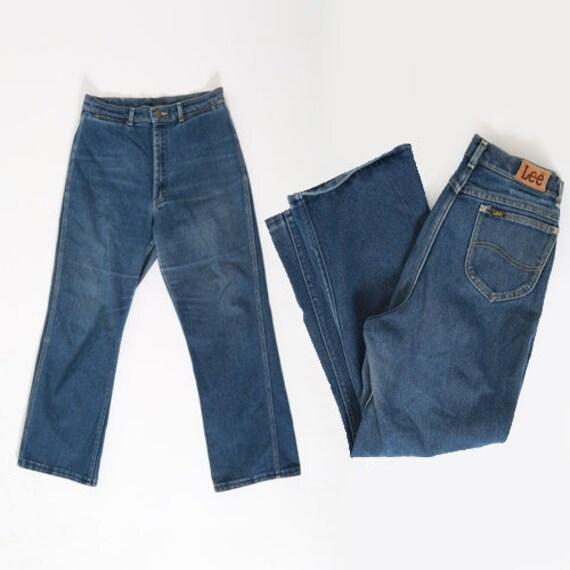 LEE Rider Jeans | vintage 70s LEE dark wash Jeans