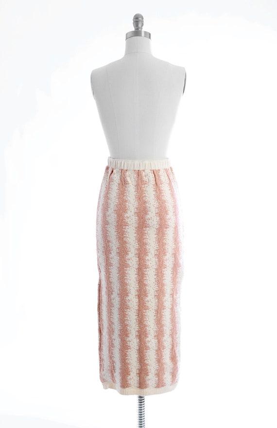 BABO Knit pencil skirt | Vintage 90s abstract kni… - image 7