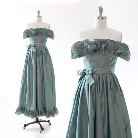 Victor Costa gown | Vintage Victor Costa Couture g