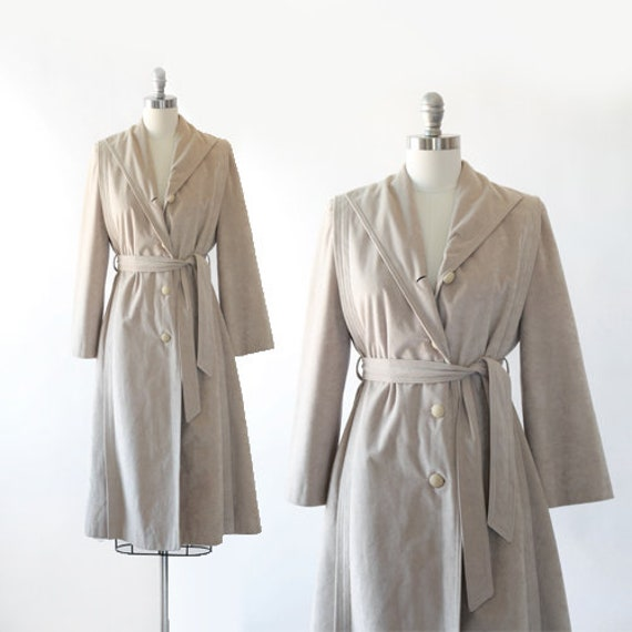 Skin Gear II coat | Vintage 70s Non leather suede