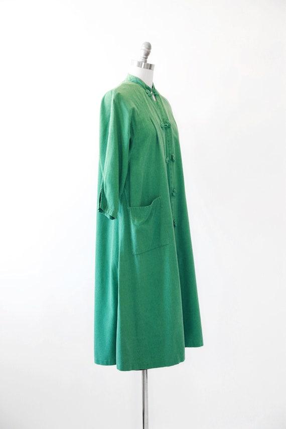 World traveler robe | Vintage 50s oriental silk r… - image 4