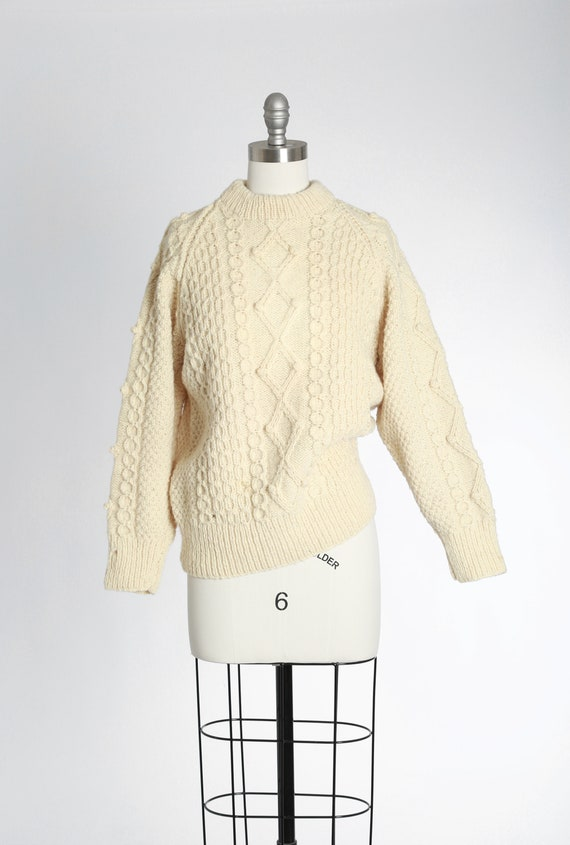 Scotch House fisherman sweater | vintage 70s Scott