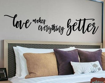 Family Wall Sayings Bedroom Large Sizes Gold  ++ Signs Home Wall Decals I Love You For All That you Are Couples Wall Quotes Decal