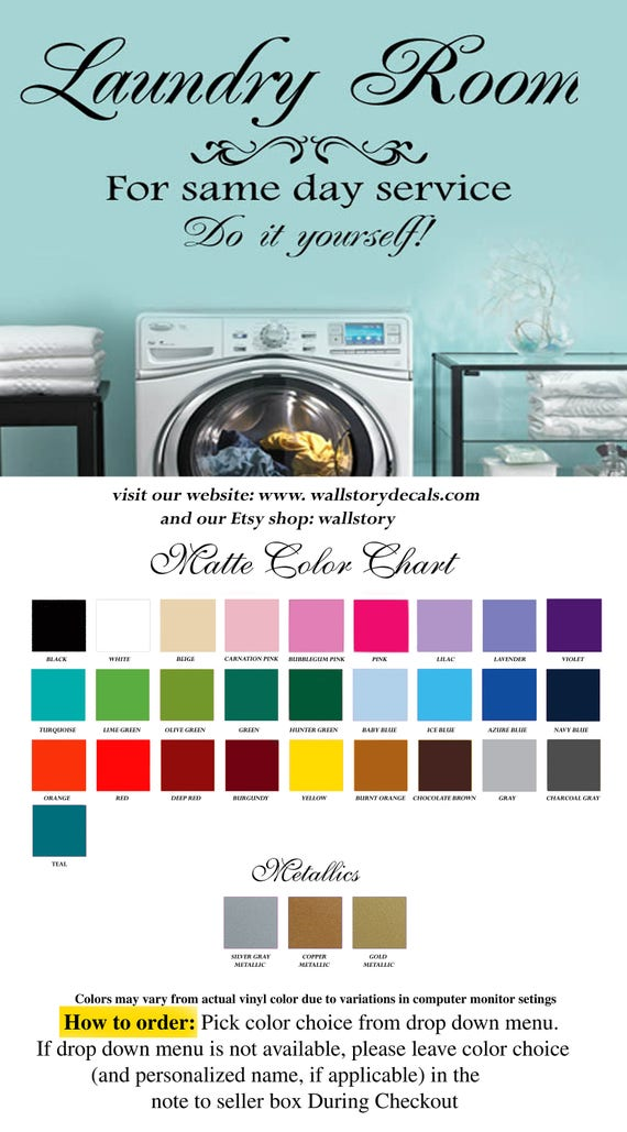 Family Wall Quotes Laundry Room For Same Day Service Do It Etsy