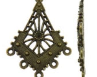 4pc antique bronze Chandelier Component-861