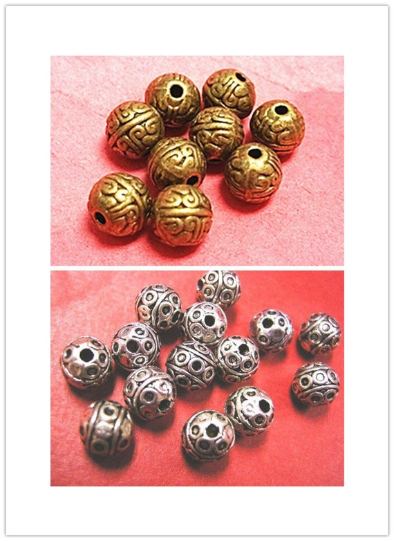12pc 8mm round Cloisonne beads-pls pick a color