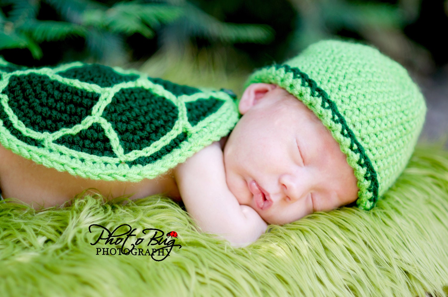 Instant Download Pdf Turtle Hat Diaper Cover Tail And Shell Etsy