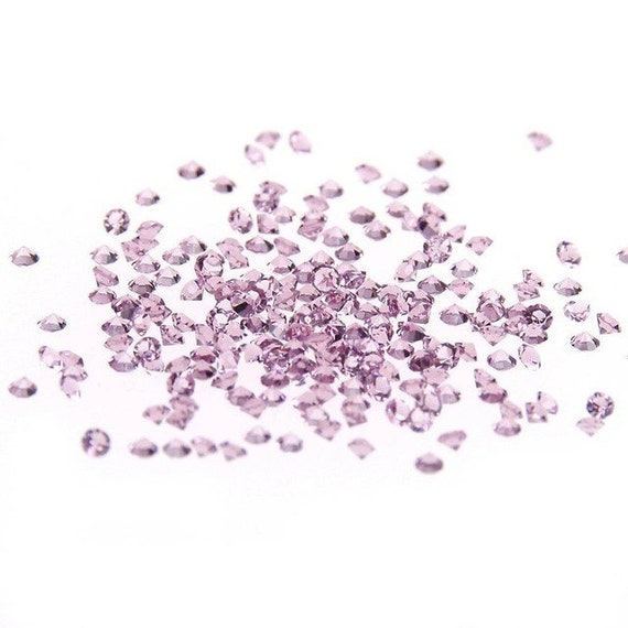 MajorCrafts® 1400pcs 1.1mm Lt Amethyst Purple Micro Cubic Zirconia Glass Cut Rhinestones C15