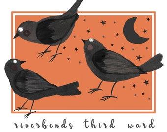 Fall Festival Black Crows
