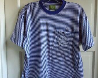 Vintage 80s 90s ESPRIT Striped T Shirt sz M L 7bd497650a