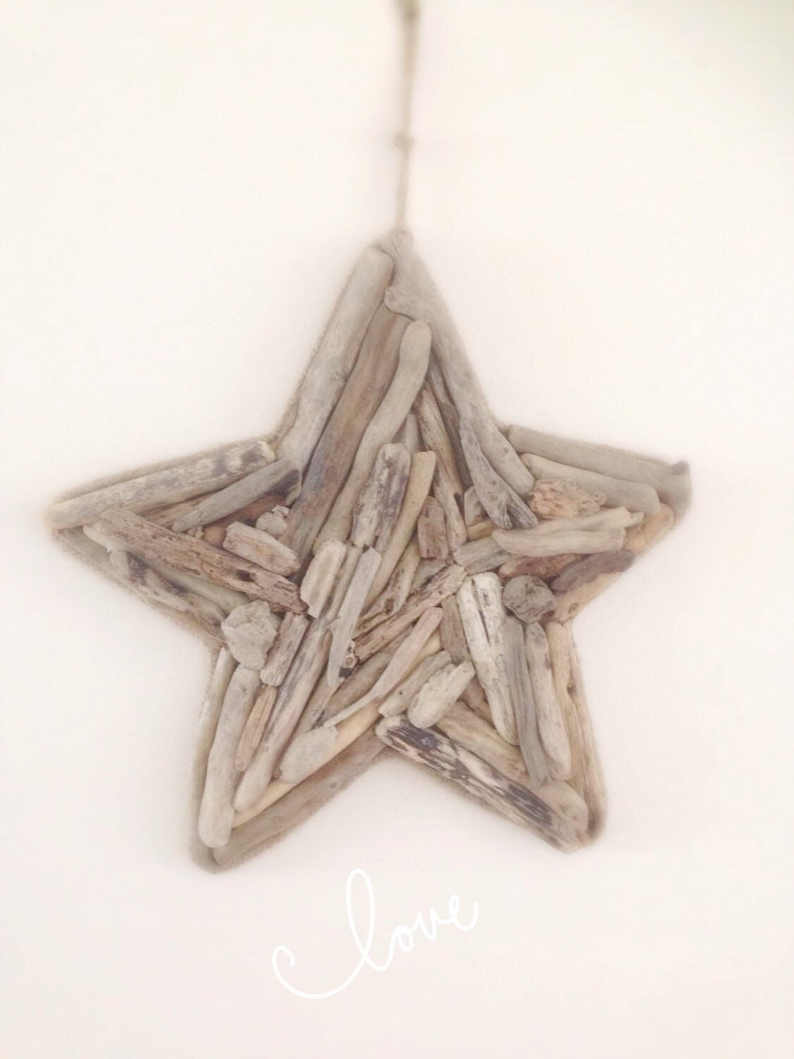 Driftwood Star Wall Art Large Wall Hanging Beach Décor ...