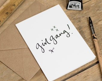 Girl Gang - Greeting Card - girlgang