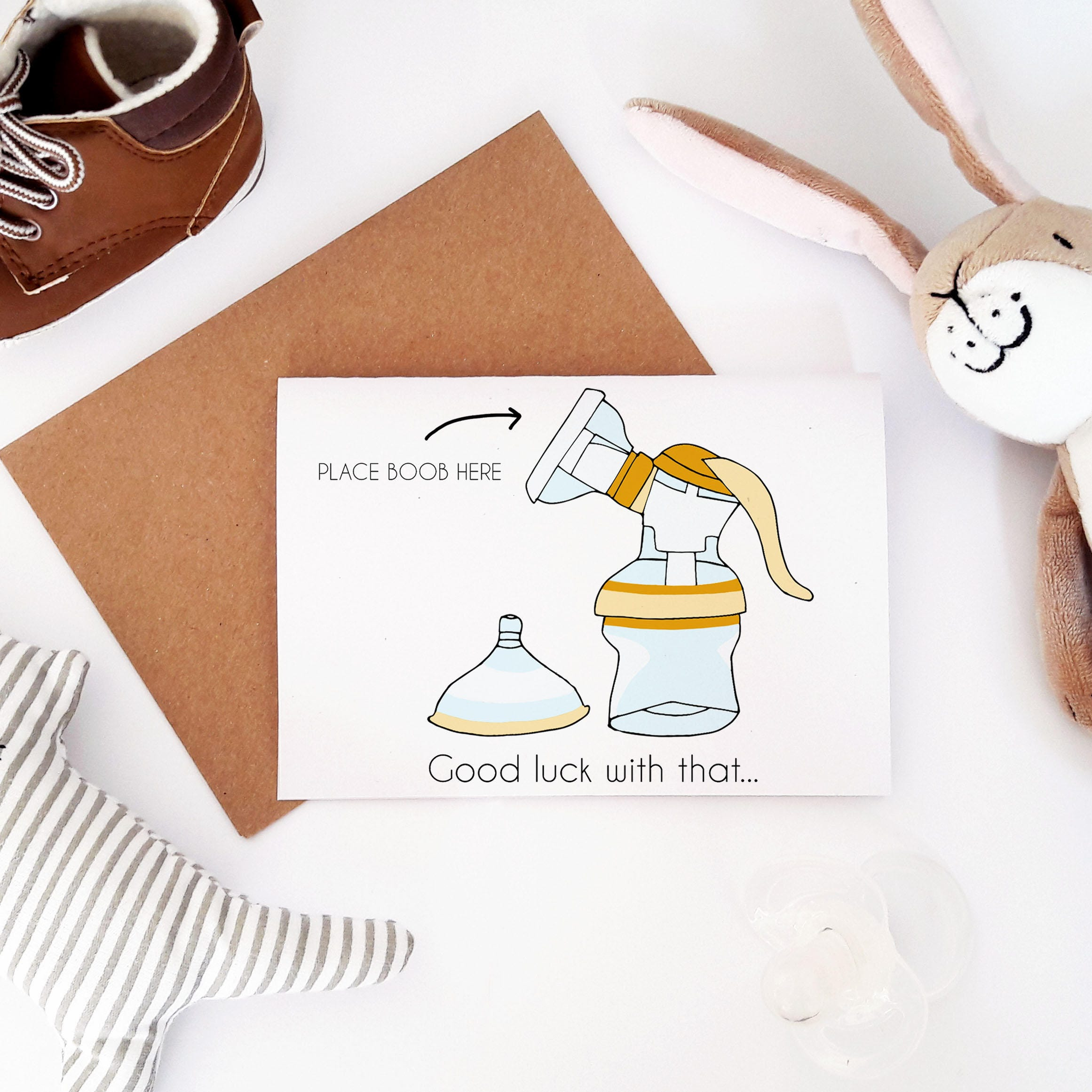 Funny Baby Shower Card Maternity Leave Card Funny Pregnancy Etsy