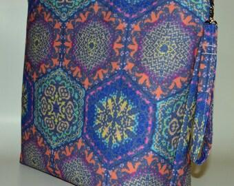 Designer Blanket Knitting project bag