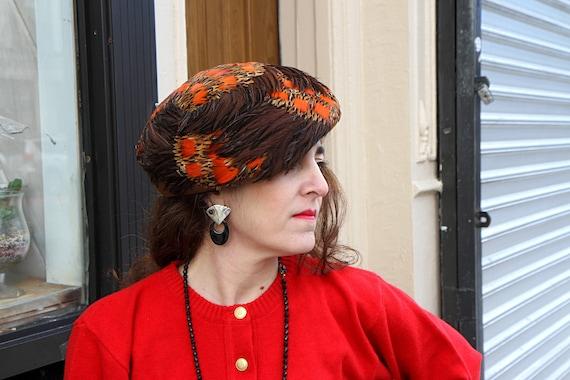 Geo W Bollman Beret Hat, Model Mrs John Classic, P