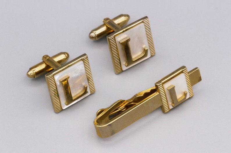 Select Gifts Bow Tie Gold-Tone Cufflinks Engraved Message Box