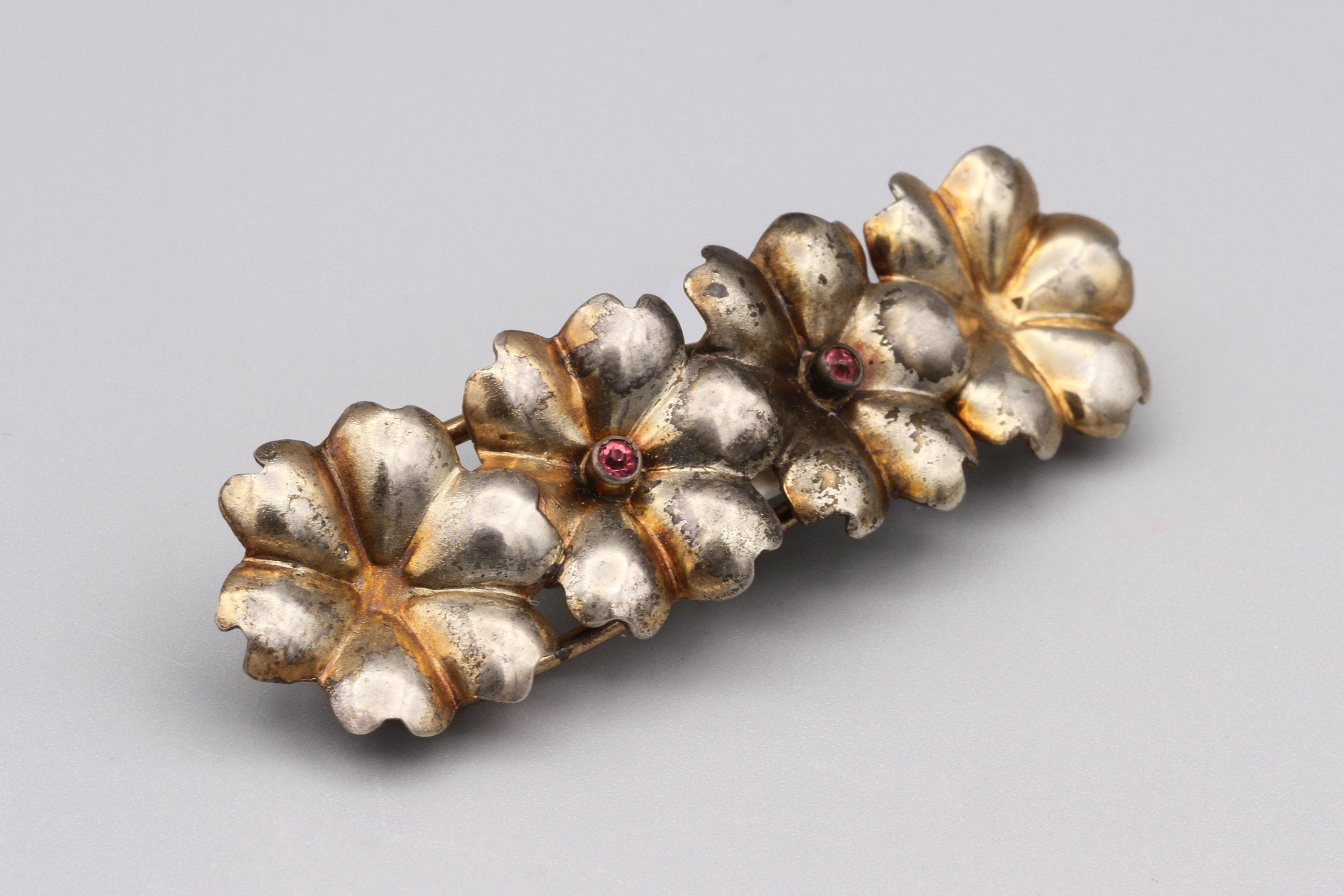 Barrette Sterling Silver Hand Crafted Jewelry