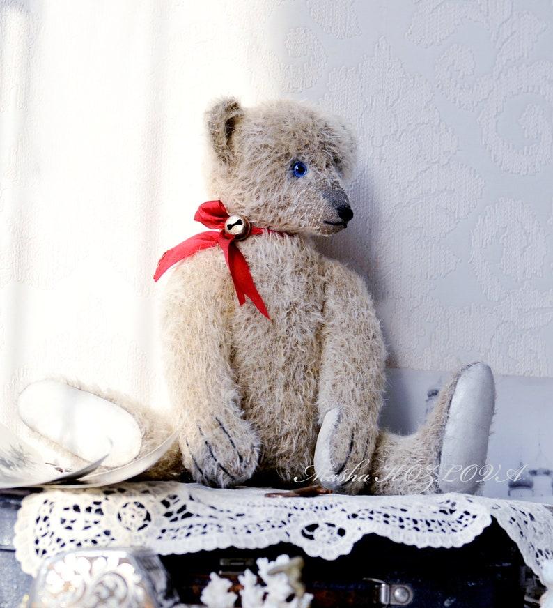 Sewing Bear Pattern and Instructions 33cm Steiff Teddy Bear by Masha Kozlova Antique 1908 Bearold teddy bearearly German bearclassic bear