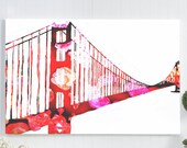 Golden Gate Bridge canvas...