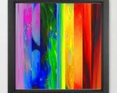 abstract art print / geom...