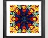 kaleidoscope art / geomet...