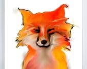 fox canvas gallery wrap /...