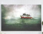 boat canvas print / 16x20...