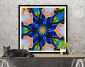 geometric art print / kal...